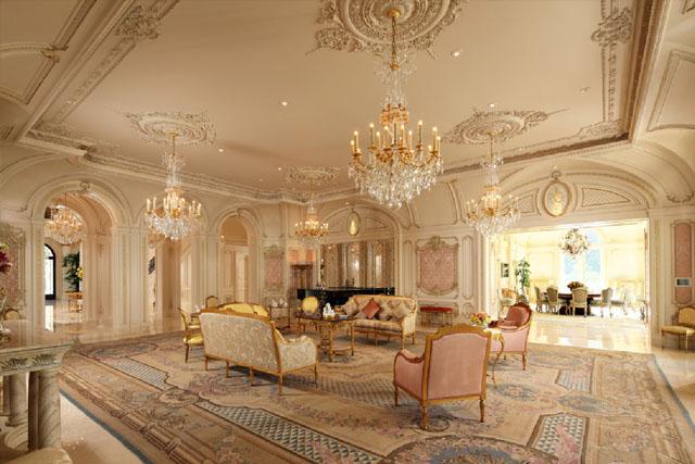 Jak Urządzić Luksusową Rezydencję W Stylu Barokowym