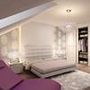 aranżacje wnętrza, dom sypialnia meble lóżko
