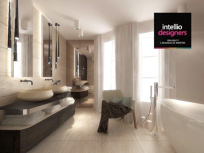 Pokój kąpielowy koncepcja łazienki
