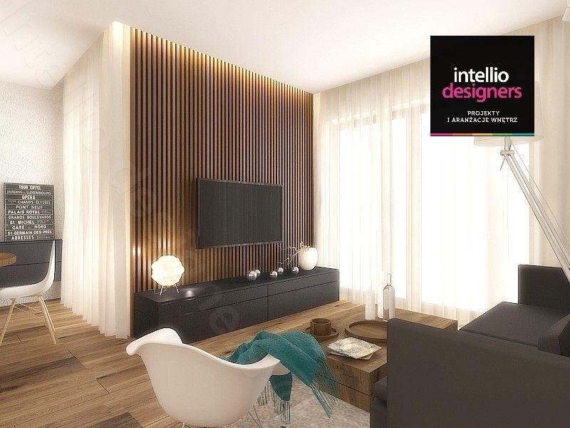 Projektowanie wnętrz mieszkań wypoczynkowy salon.