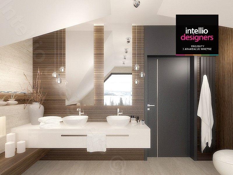 Wizualizacje łazienek, projekty wnętrz dużych łazienek