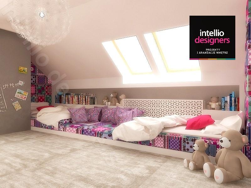 Pokoje dziecięce - zaprojektowane z myślą o wygodzie