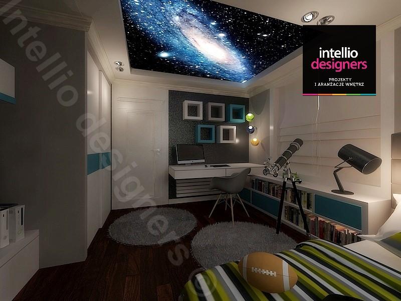 projektowanie wnętrz pokój dla nastolatka
