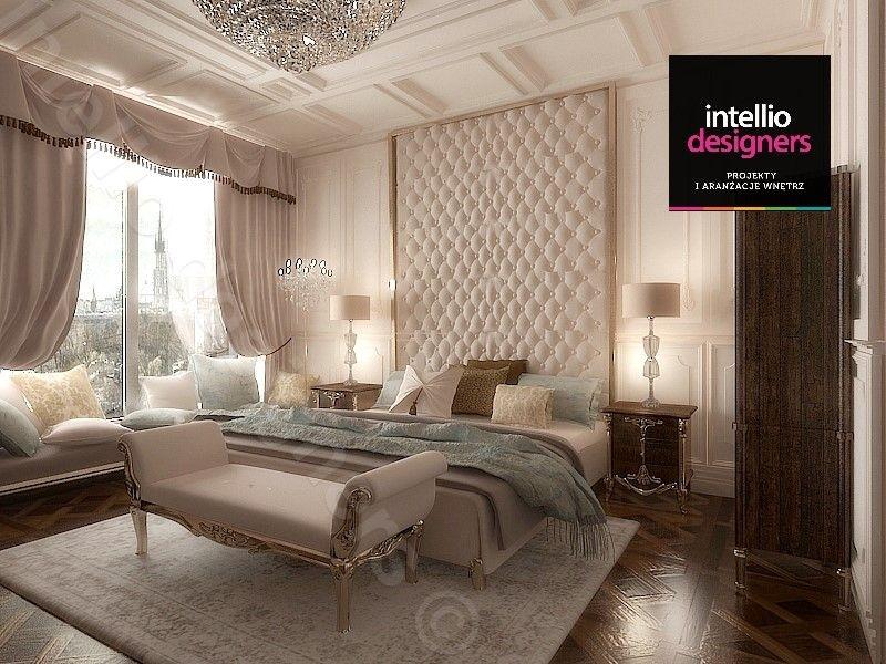 Apartament sypialnia barokowa