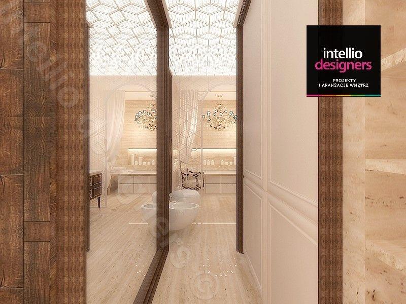 Łazienka w apartamencie projekt 3D