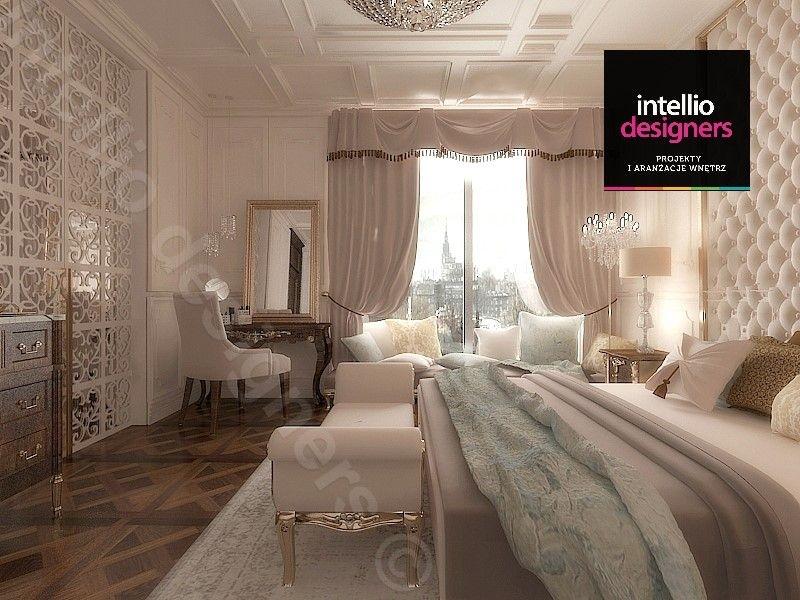 Sypialnia z widokiem na miasto