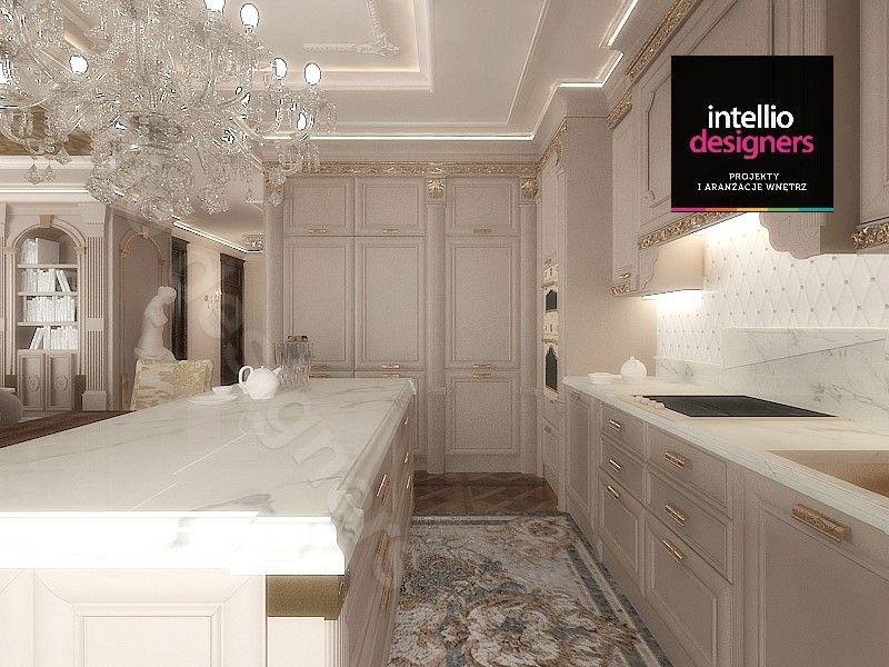 Mozaika w kuchni, pikowane płytki
