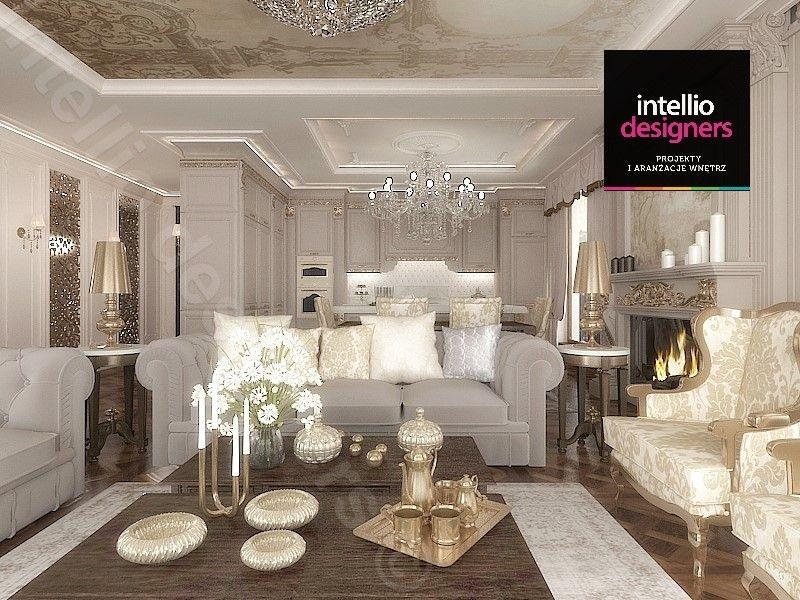 Kuchnia w stylu pałacowym, styl barokowy, styl wiktoriański