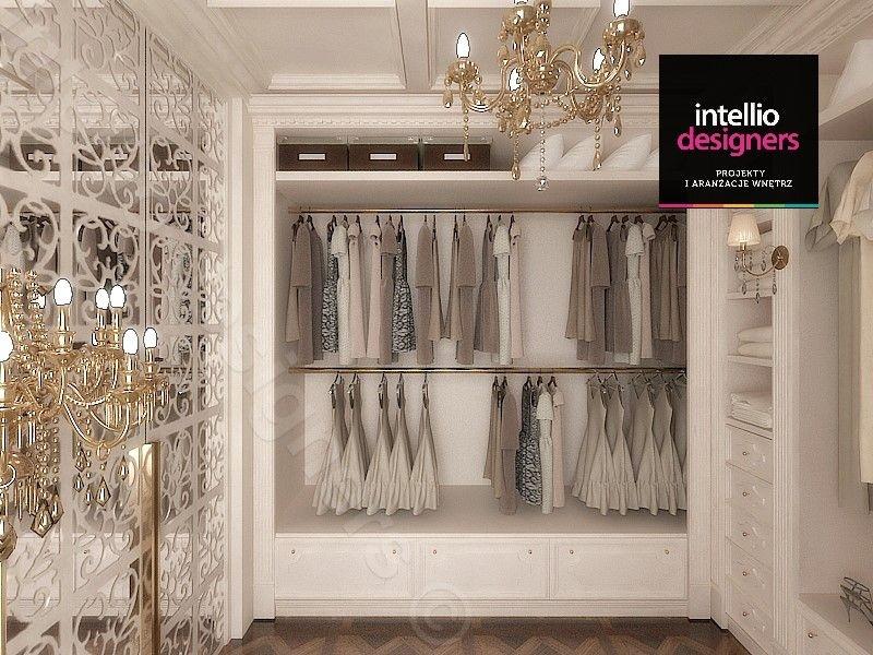 Projekty: Garderoba, szafki na ubrania oraz wieszaki