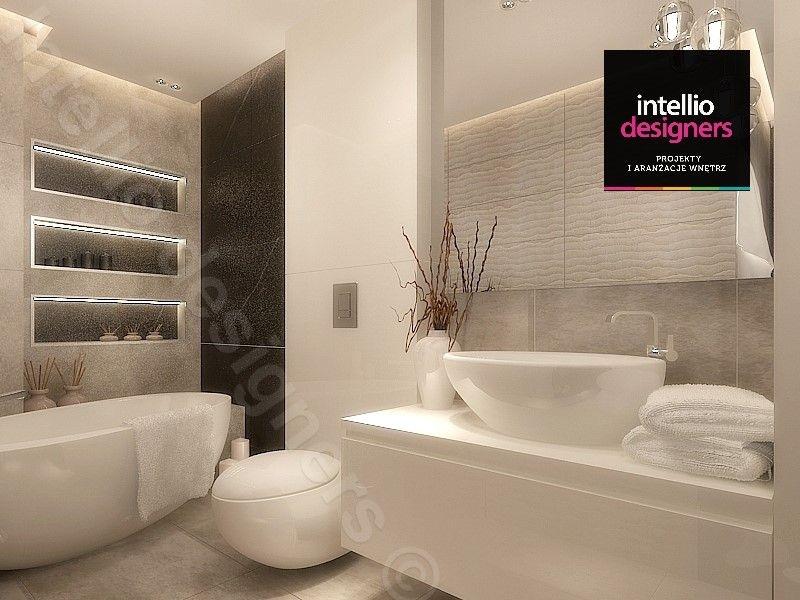 Aranżacja luksusowej, stylowej łazienki