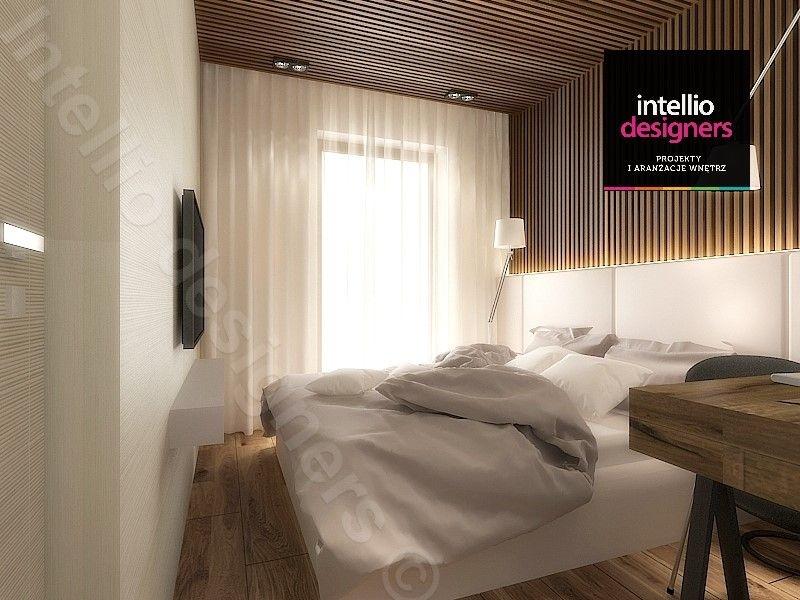 Sypialnia w mieszkaniu, ekskluzywne materiały