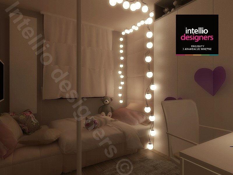 Pokój małego dziecka, projekty wnętrz - koncepcje, wizualizacje