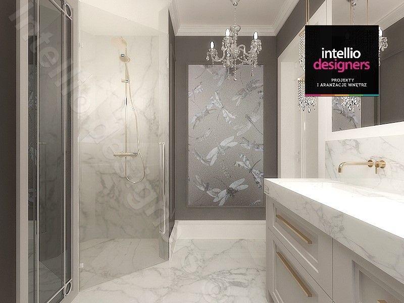 Łazienka stylowe projekty wnętrz - koncepcje, wizualizacje