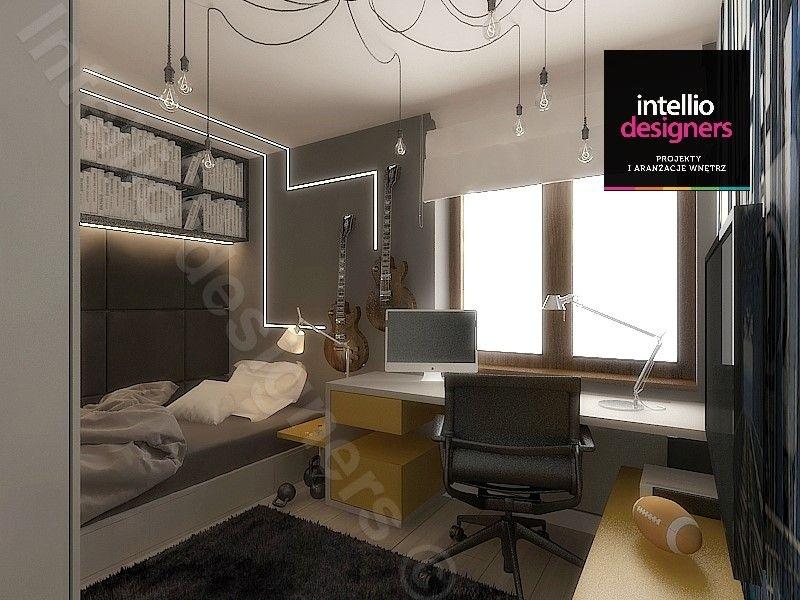 Pokój nastolatka projekty wnętrz - koncepcje, wizualizacje