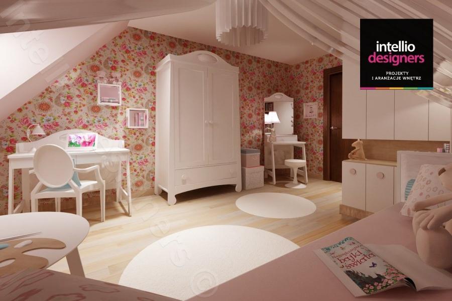 Realizacje remontów, portfolio - pokój małej dziewczynki