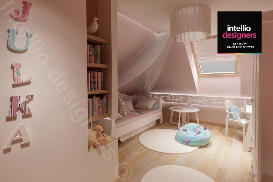 Realizacje, portfolio - pokój małej dziewczynki