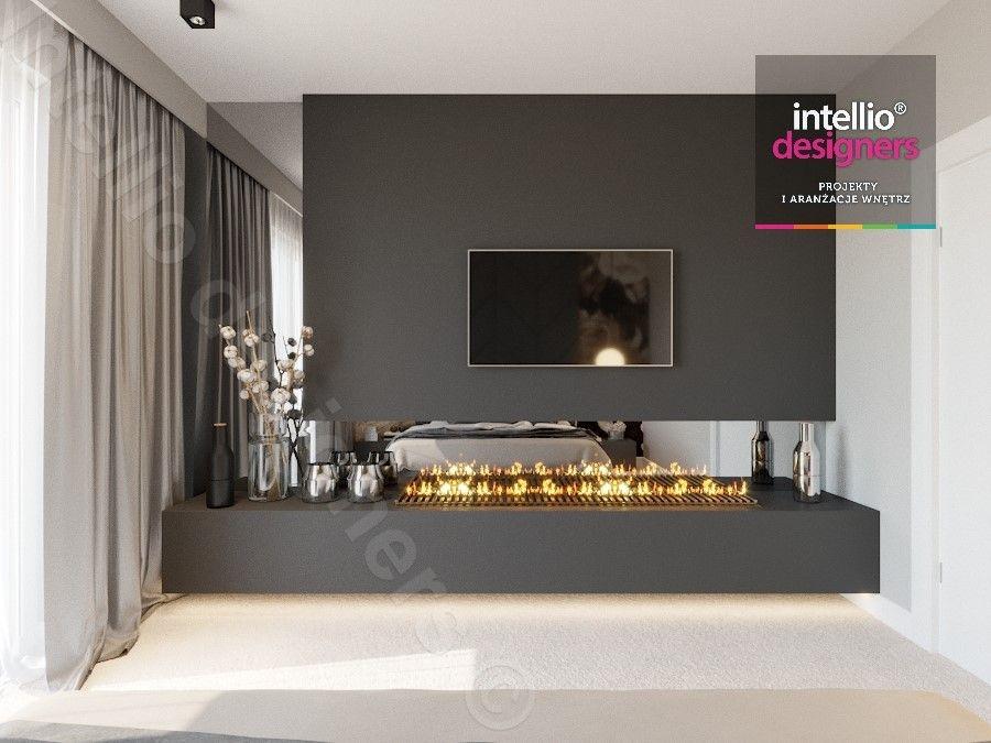 Najpiękniejsze wnętrza od Intellio designers - sypialnia