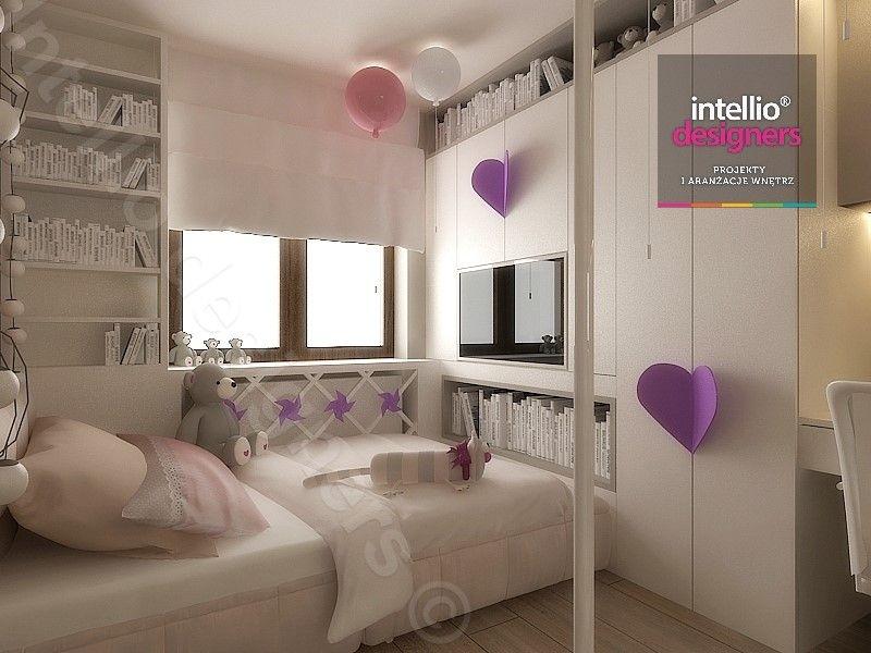 Projekty pokojów dla małej dziewczynki