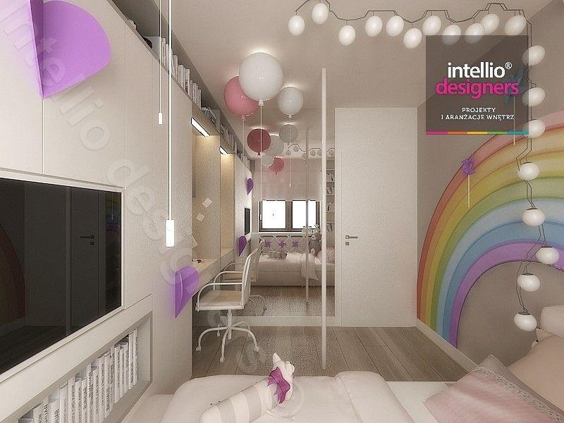 Aranżacje wnętrz pokój dziewczynki - Lampki cotton balls, lampki baloniki firma Brokis, pokój księżniczki, Meble dziecięce, Meble dla dziewczynki, biurko dla dziecka