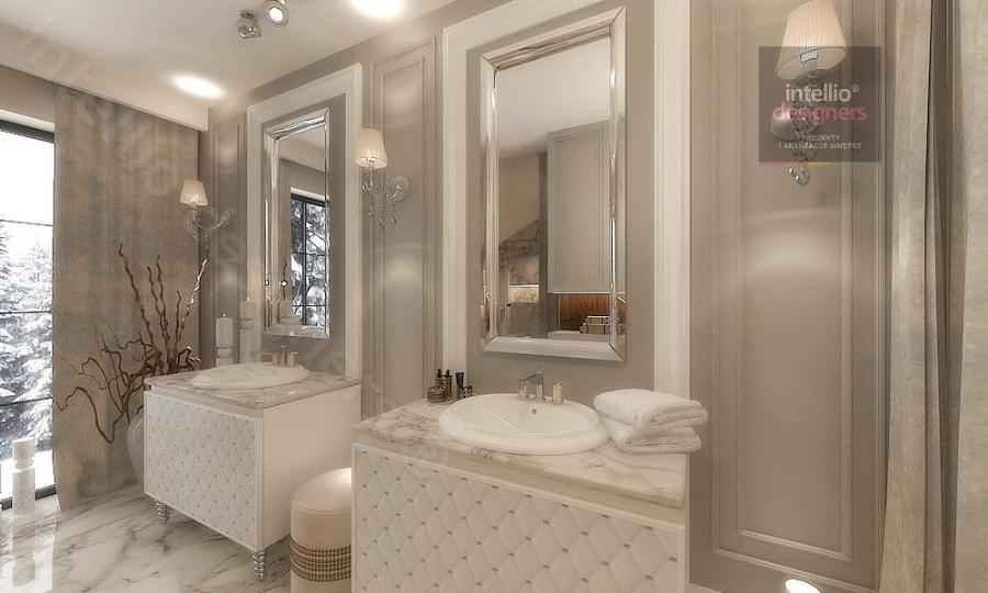 Luksusowe łazienki i pokoje kąpielowe projekty wnętrz
