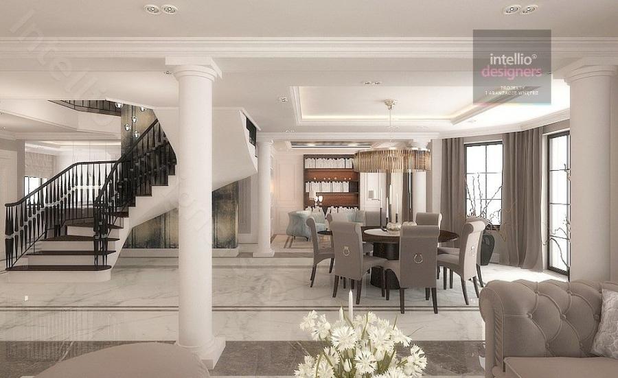 Luksusowe rezydencje w Polsce - Interior design Cracow