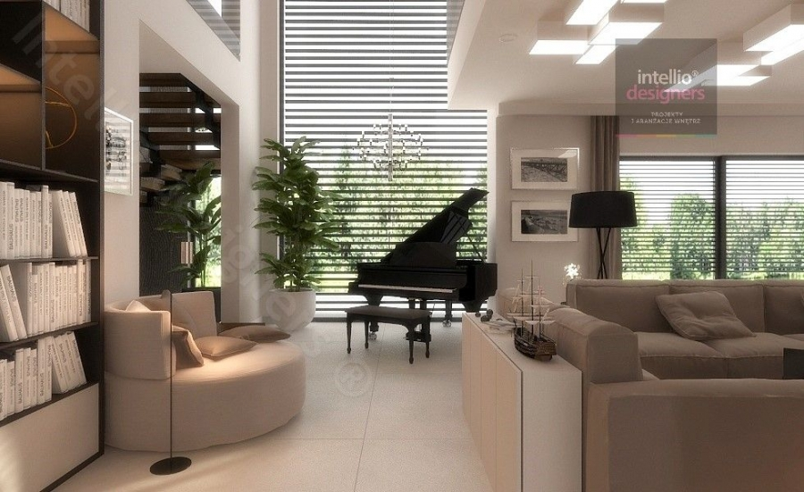 Luksusowe rezydencje w Polsce - przestronne, klasyczne, stylowe wnętrza salonów, sypialni, pokoi gościnnych