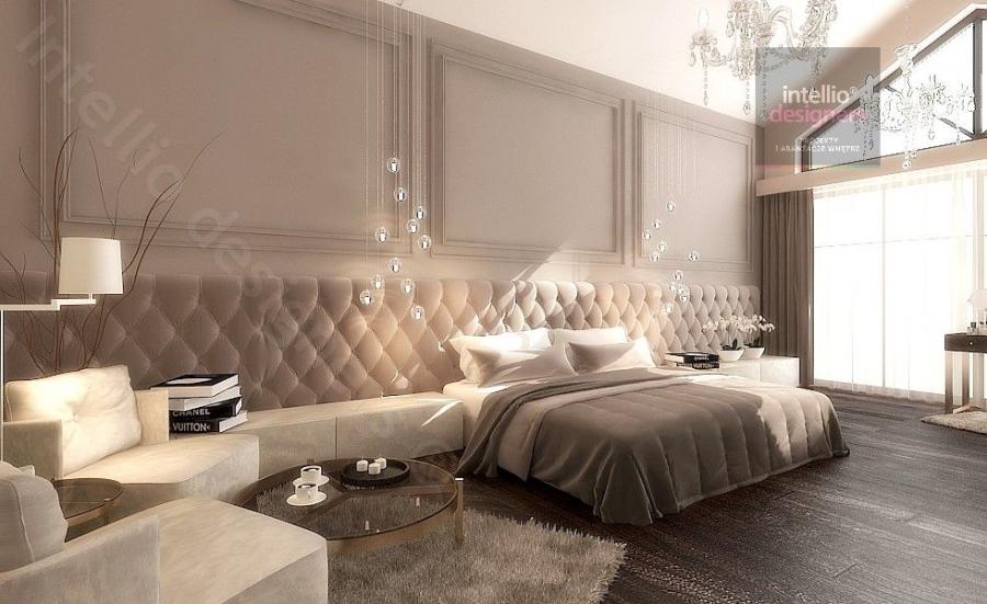 Interior design - Luksusowe rezydencje w Polsce - przestronne, klasyczne, stylowe wnętrza salonów, sypialni, pokoi gościnnych