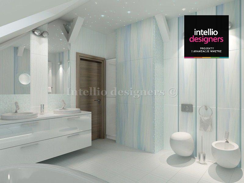 projekt wnetrza lazienka umywalka toaleta bidet