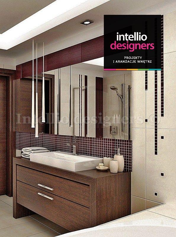 aranżacja wnętrza lazienka umywalka lustro
