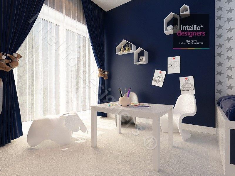 Projekty i aranżacje pokoi dla małych dzieci