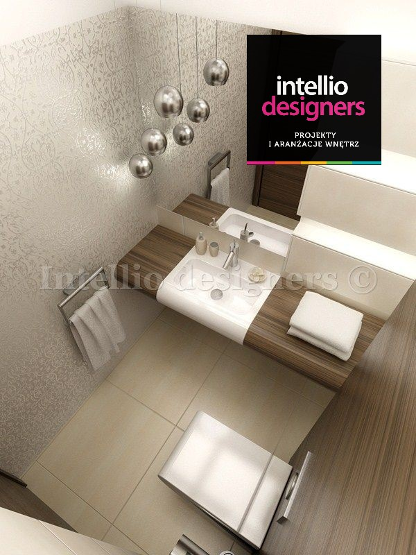 dekoracje wnętrza łazienka umywalka toaleta lustro