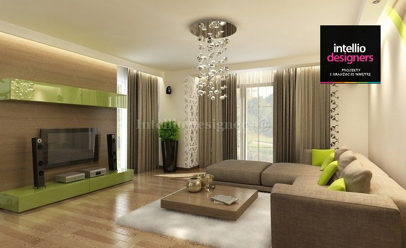 Projekt wnętrza salon meble wypoczynek, inspiracje wnętrz salon. Najlepsze aranżacje wnętrz