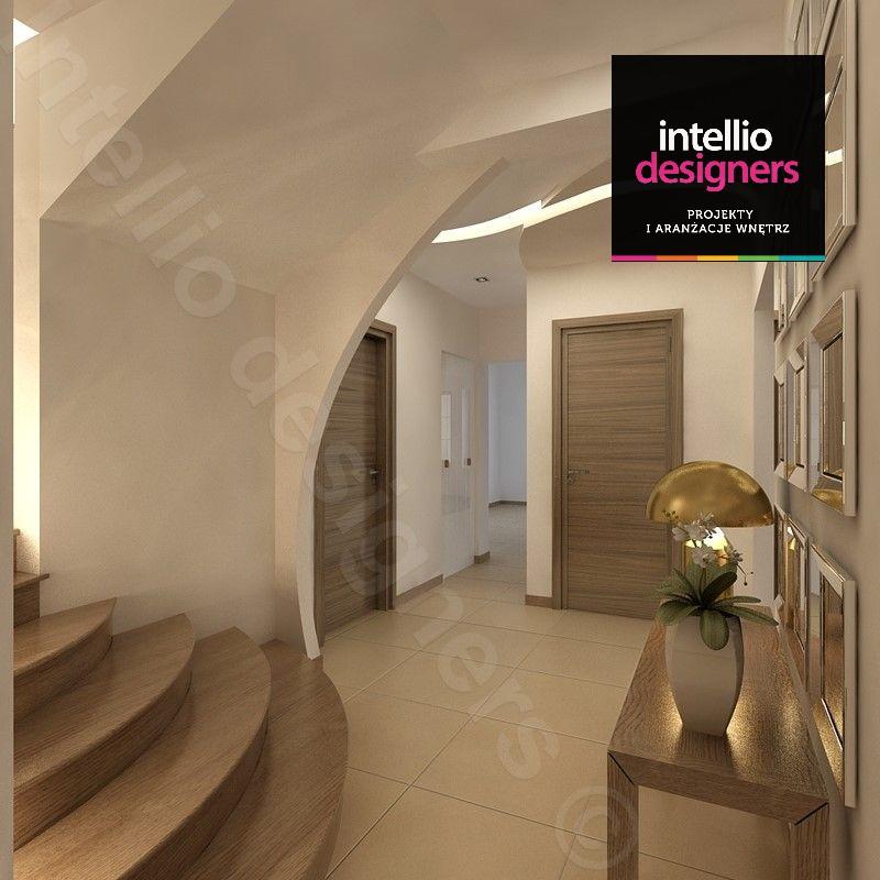 projekty przedpokój, aranżacja wnętrza domu klatka schodowa przedpokoj schody, przedpokoje wystrój wnętrz
