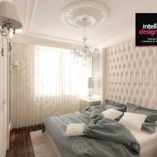 Sypialnia w luksusowym domu styl klasyczny projekty wnętrz awangardowych