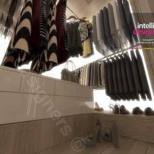 Ekskluzywne wnętrza apartament Kuchnia, Meble mdf lakier połysk, blaty granitowe w kuchni, zlewozmywak podwieszany, lampy Vibia, stół calligaris, krzesła catellan Italia