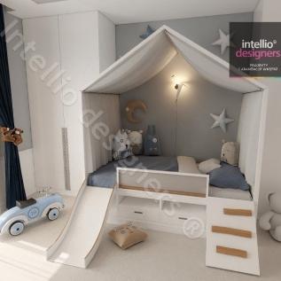 Najfajniejsze projekty pokoi dla chłopców i dziewczynek