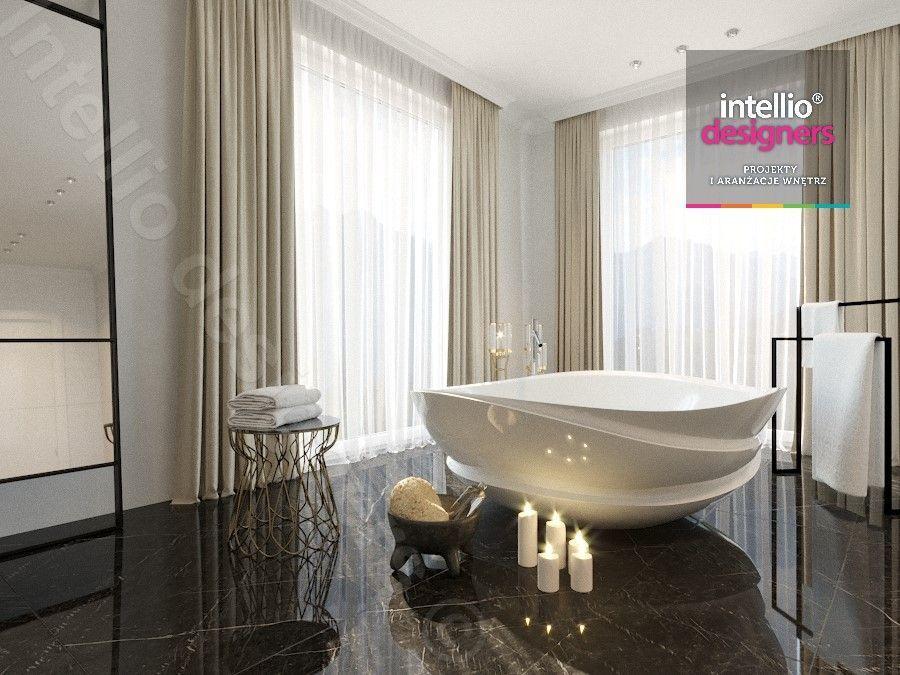Aranżacje nowoczesnych wnętrz salonów kąpielowych