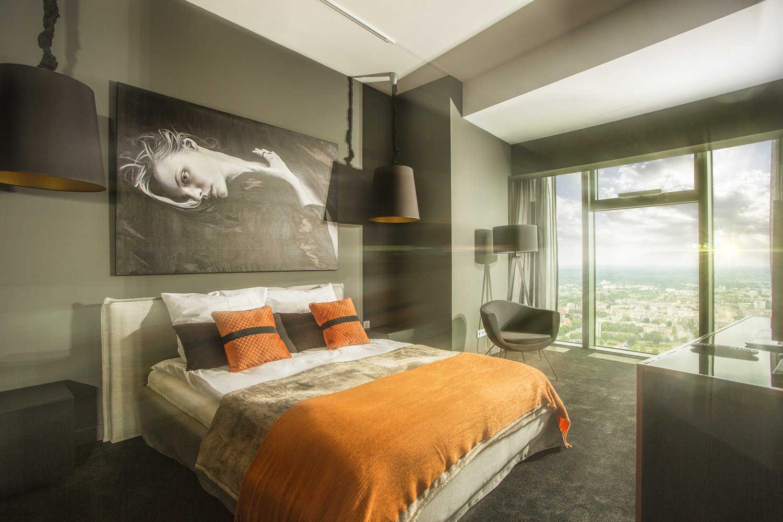 Sypialnia - wnętrza luksusowe