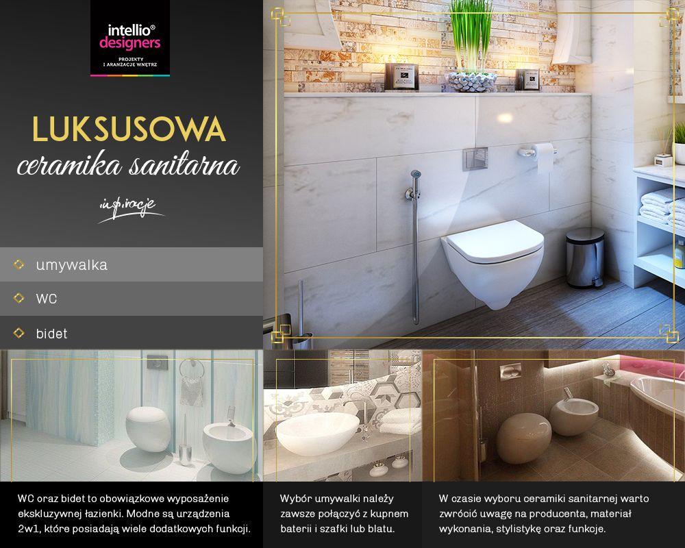 Ceramika łazienkowa - WC, umywalka, bidet