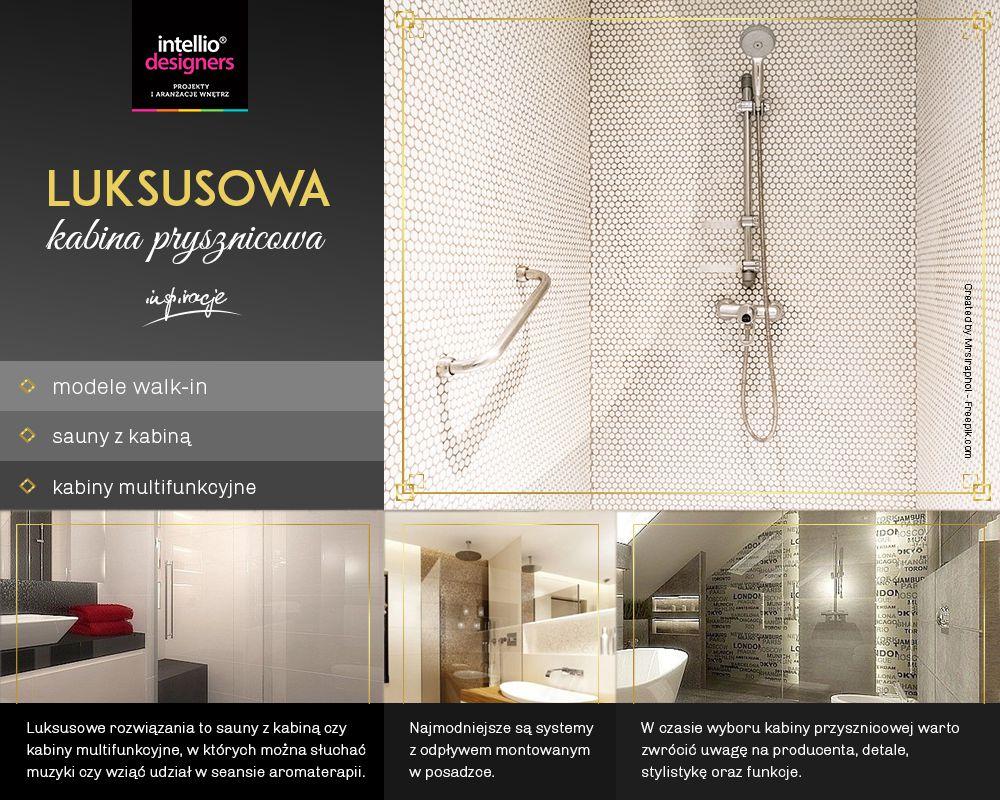 Kabiny prysznicowe wyposażenie łazienek