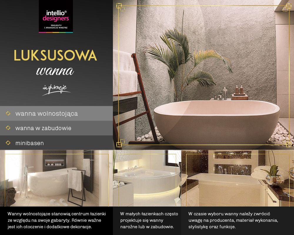 Wanny w projektowaniu łazienek