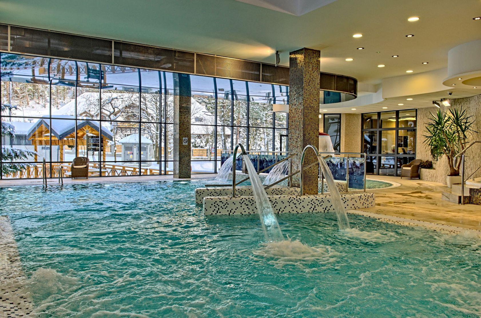 Hotel Czarny Potok komfortowe pokoje z widokiem na góry