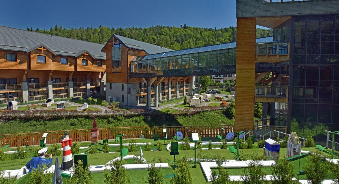 Hotel Czarny Potok Czterogwiazdkowy Hotel jeden z najlepszych obiektów turystycznych w Polsce