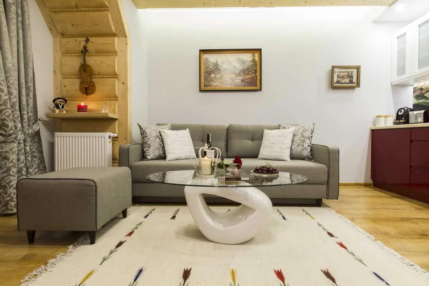 Wnętrza, zdjęcia mieszkań w Zakompanem - sprzedaż i wynajem