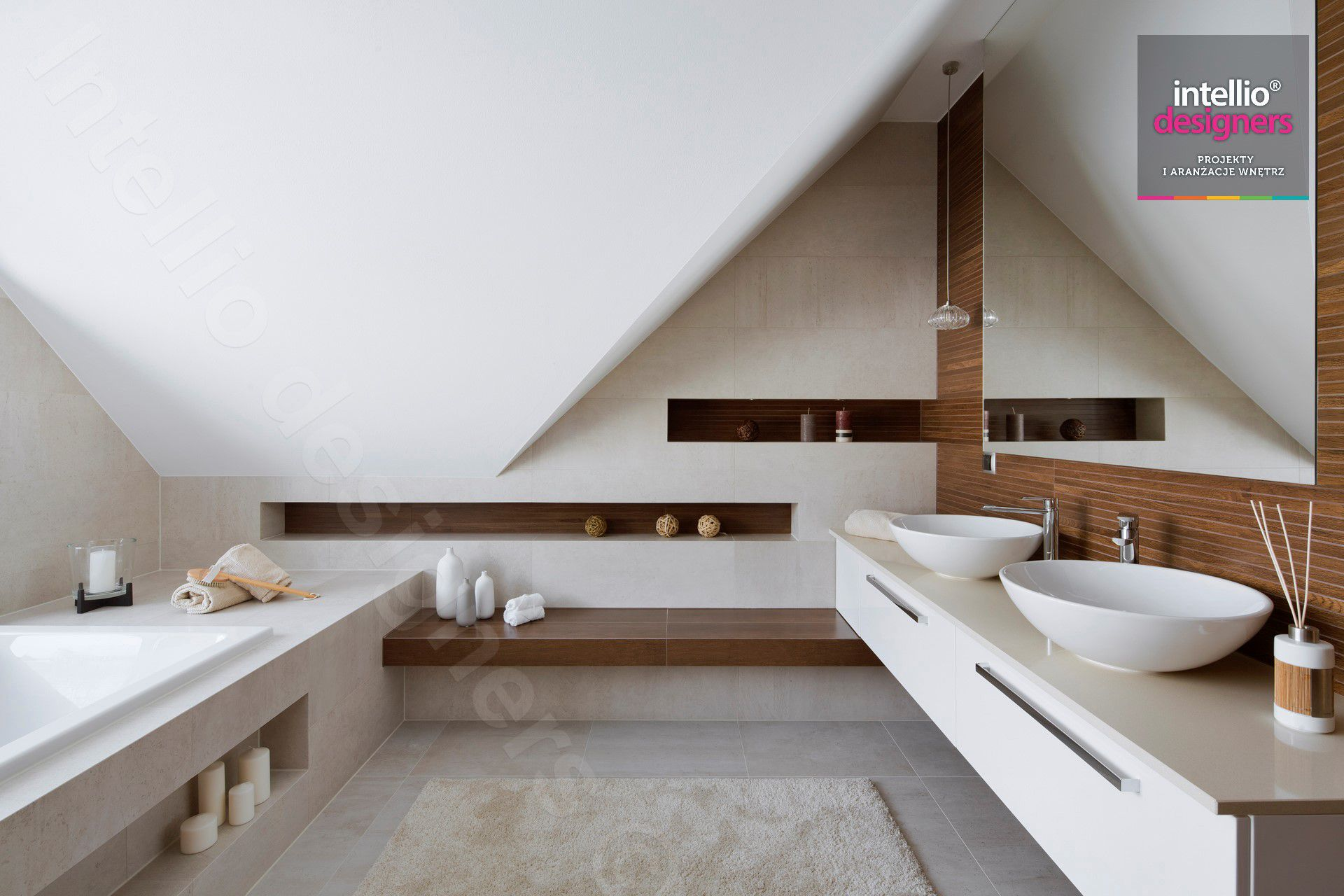 The best interior designs of Intellio - a house in the mountains, luxurious interiors of the living room, bathrooms, dining room