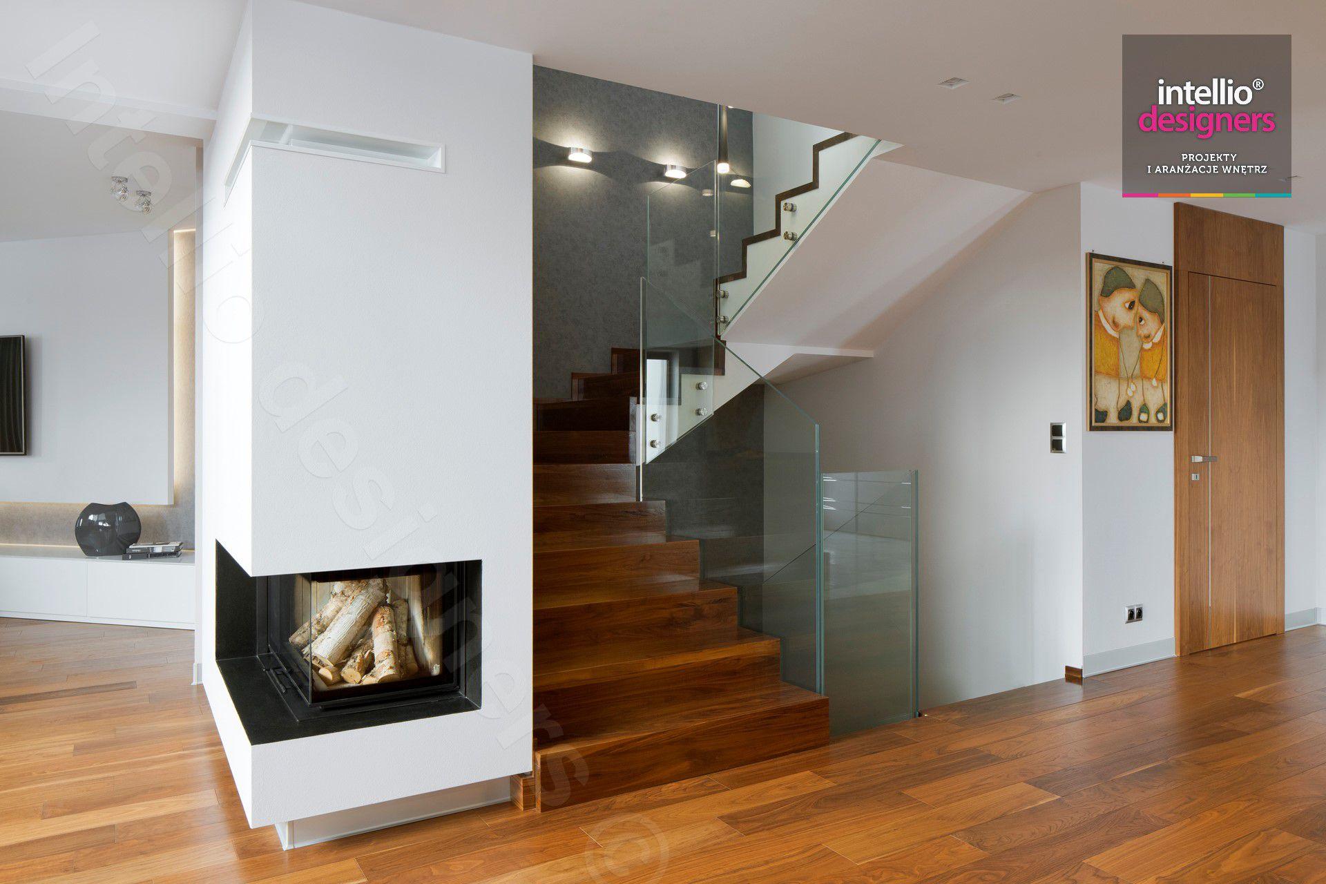 Dom w górach - Intellio designers. Architektura wnętrz, nowoczesna architektura, projekty wnętrz domów.