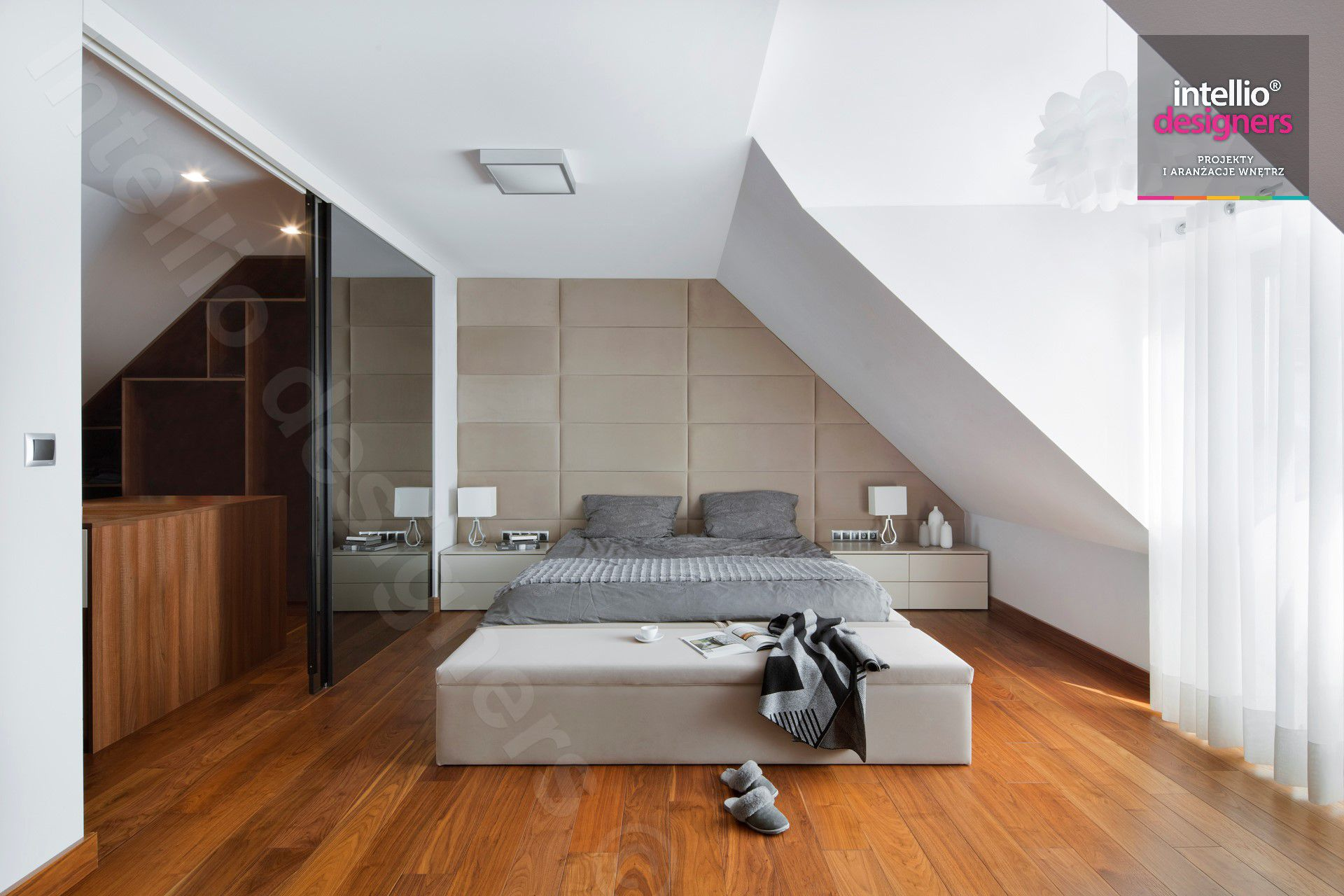 Nowoczesne wyposażenie domu położonego w górach - sesja dla Intellio designers