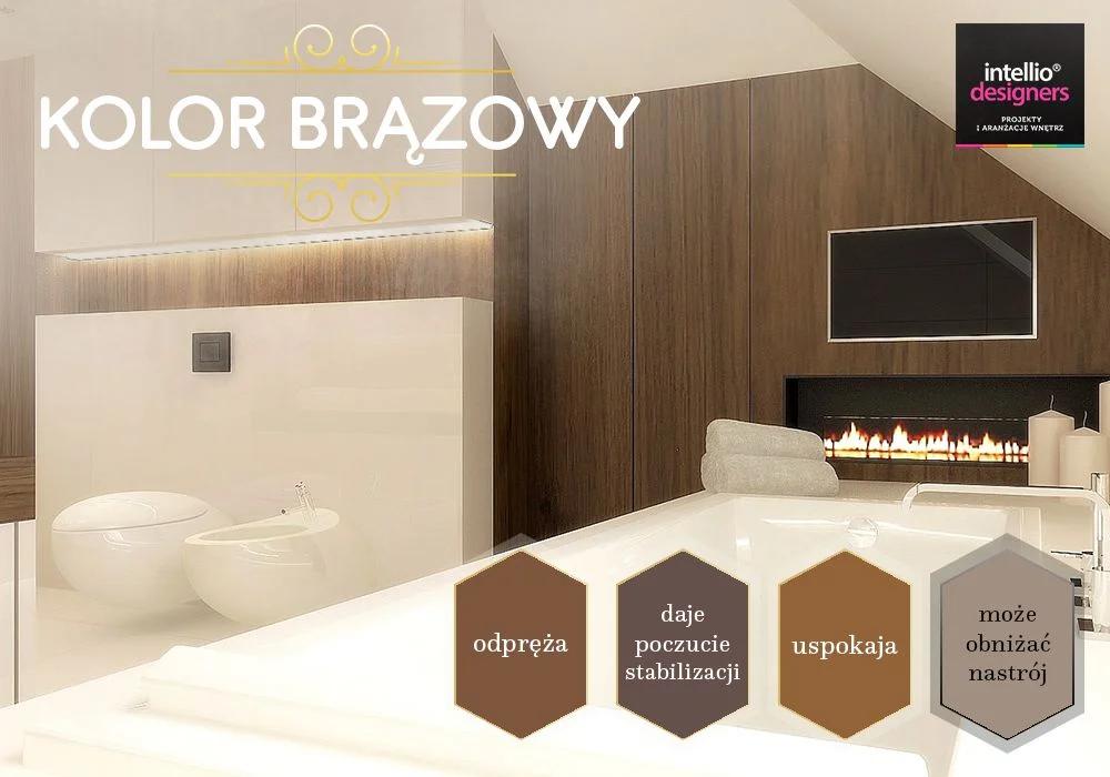 Projektowanie wnętrz brązowe kolory - dobór kolorów ścian, wyposażenia wnętrz