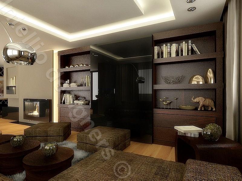 apartament luksusowy nowoczesne wnętrza