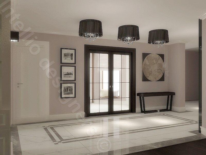 Projekt przedpokoju, home design